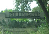 Picture of the entrance to Rollingwood Texas, Rollingwood TX, Entrance to Rollingwood Texas