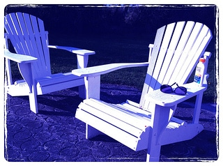 adirondack chairs, tips for summer decorating, how to decorate for summer, how to freshen your home for summer, summer decorating, austin real estate market, top realtor austin tx