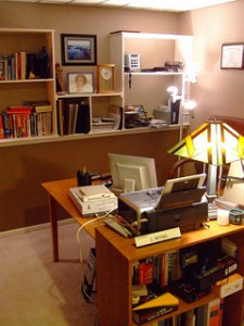 clean office, organized home office, how to organize your home office, home office organization, best austin texas realtors, best austin texas real estate agents