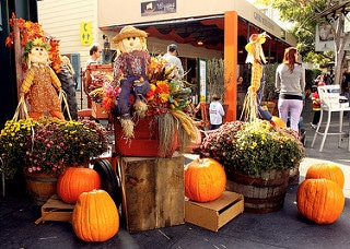 pumpkins with scarecrows, fall fun in austin, pumpkins, pumpkin patch, austin pumpkin patches, pumpkin patches in austin, haunted houses austin, fall festivals austin