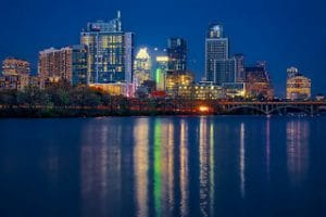downtown austin at night, downtown austin, austin texas, austin tx, austin, austin real estate, austin neighborhoods, areas of austin, austin realtors, top austin realtors